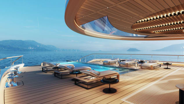 aqua Aqua, The Magnificent Hydrogen-Powered Superyacht Of The Future Aqua The Magnificent Hydrogen Powered Superyacht Of The Future 3