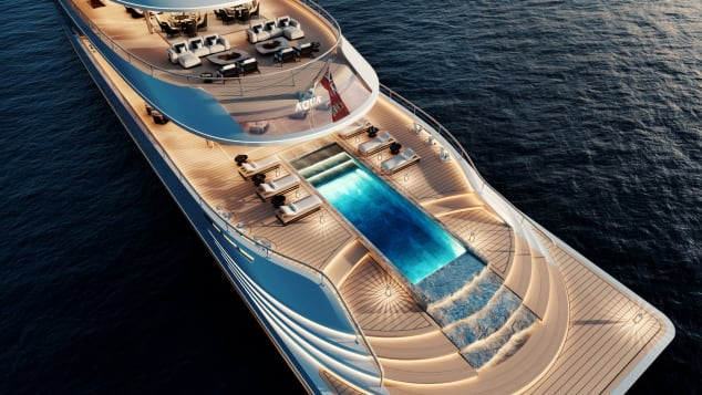 aqua Aqua, The Magnificent Hydrogen-Powered Superyacht Of The Future Aqua The Magnificent Hydrogen Powered Superyacht Of The Future 4