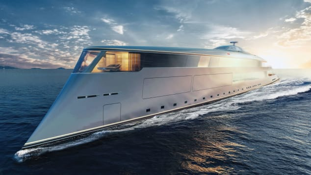 aqua Aqua, The Magnificent Hydrogen-Powered Superyacht Of The Future Aqua The Magnificent Hydrogen Powered Superyacht Of The Future 5